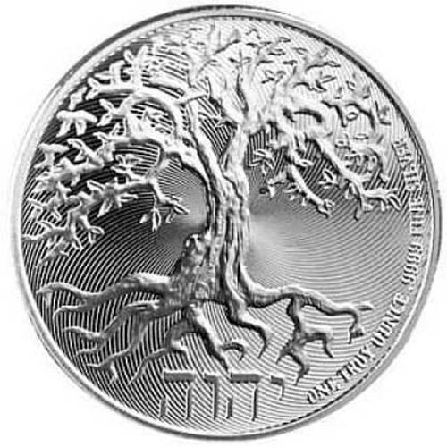 Lieferumfang :Niue : 2 Dollar Tree of Life  2018 Stgl.