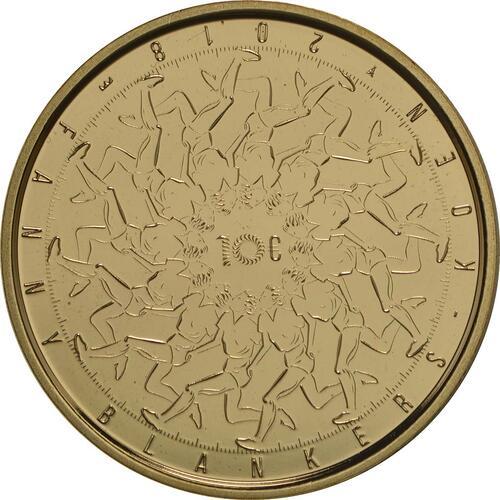 Rückseite:Niederlande : 10 Euro Fanny Blankers-Koen  2018 PP