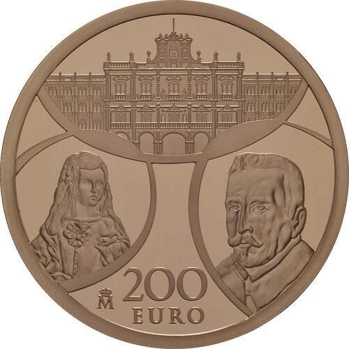 Vorderseite:Spanien : 200 Euro Barock und Rokoko  2018 PP