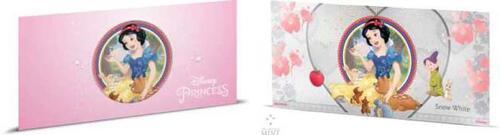 Lieferumfang:Niue : 1 Dollar Disney Prinzessinnen - Schneewittchen Silberbanknote  2018 PP