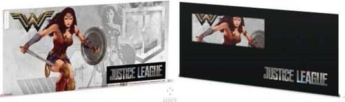 Lieferumfang:Niue : 1 Dollar Justice League - Wonder Woman Silberbanknote  2018 Stgl.