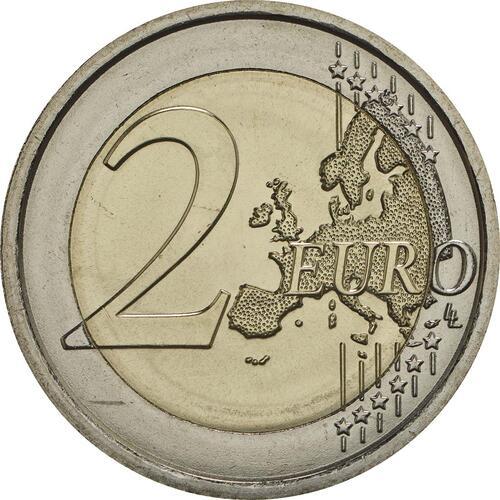 Vorderseite:Slowenien : 2 Euro Weltbienentag  2018 bfr