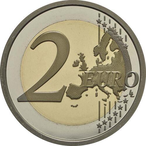 Vorderseite:Slowenien : 2 Euro Weltbienentag  2018 PP
