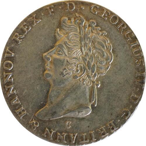 Rückseite :Deutschland : 2/3 Taler  patina, winz. Kratzer 1825 f.vz.