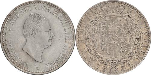 Lieferumfang :Deutschland : 1 Taler Wilhelm IV 1830 - 1837  1834 ss.