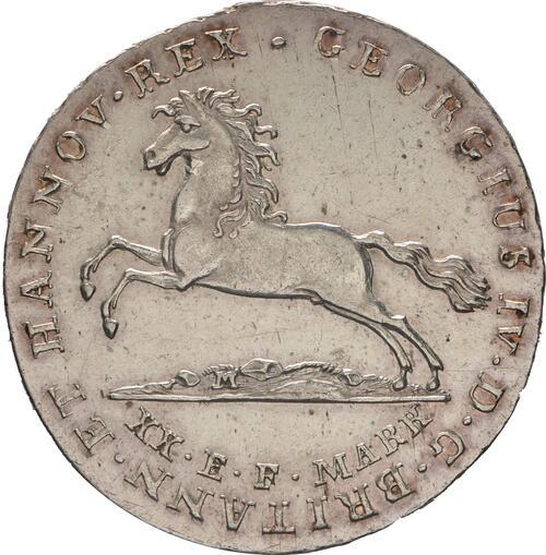 Vorderseite :Deutschland : 16 Gute Groschen Georg IV 1820 - 1830  1824 ss/vz.