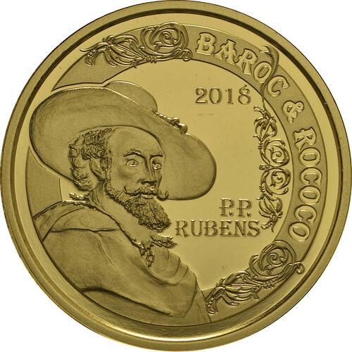 Vorderseite:Belgien : 50 Euro Rubens  2018 PP