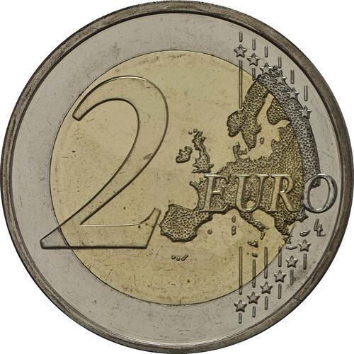 Vorderseite:Finnland : 2 Euro Koli Nationalpark  2018 bfr