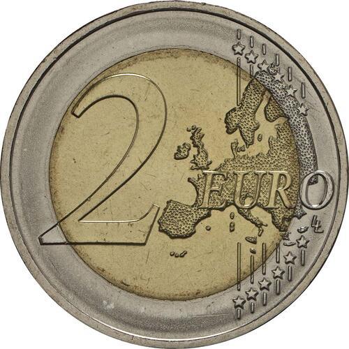 Vorderseite:Portugal : 2 Euro 250 Jahre staatliche Prägestätte INCM  2018 bfr