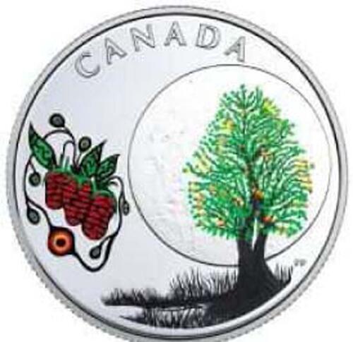 Lieferumfang:Kanada : 3 Dollar Strawberry Moon - Die 13 Lehren von Grandm. Moon  2018 PP