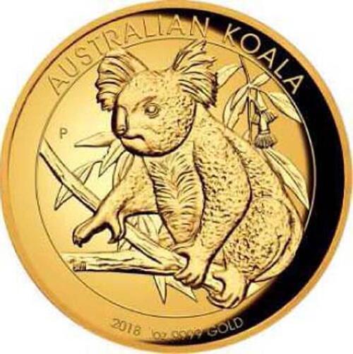 Lieferumfang:Australien : 100 Dollar Koala - Highrelief  2018 PP