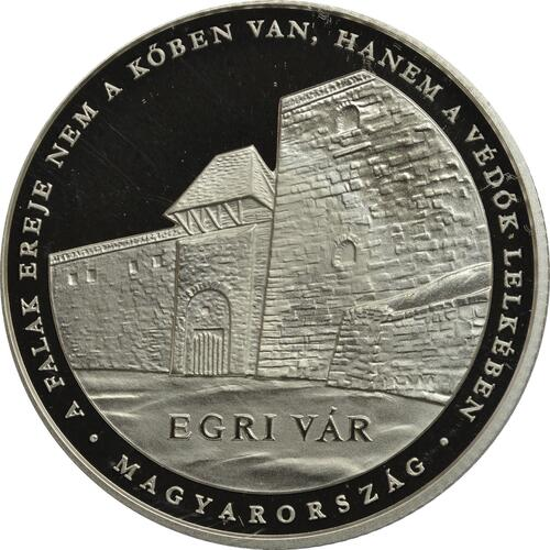 Rückseite:Ungarn : 10000 Forint Schloss Eger - Ungarische Schlösser  2018 PP