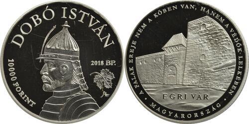 Lieferumfang:Ungarn : 10000 Forint Schloss Eger - Ungarische Schlösser  2018 PP