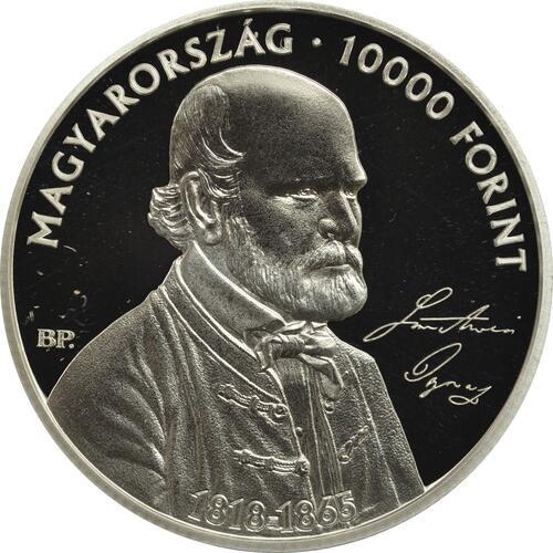 Vorderseite:Ungarn : 10000 Forint 200. Geburtstag Ignaz Semmelweis  2018 PP