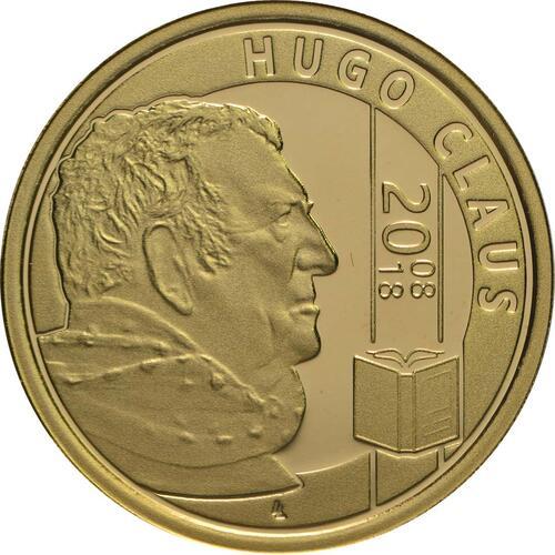 Vorderseite:Belgien : 25 Euro Hugo Claus  2018 PP