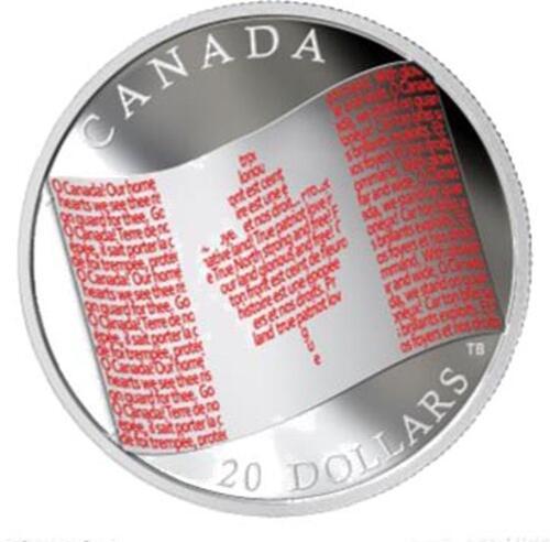 Lieferumfang:Kanada : 20 Dollar Kanadische Flagge  2018 PP