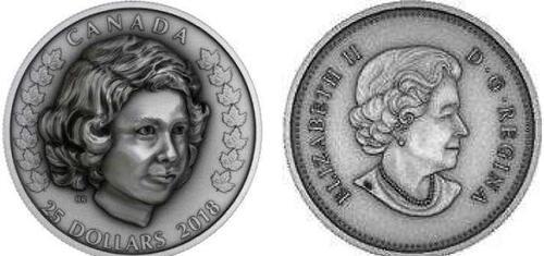 Lieferumfang:Kanada : 25 Dollar Elizabeth II-Die junge Prinzessin  2018 PP