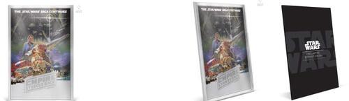 Lieferumfang:Niue : 2 Dollar Das Empire schlägt zurück - Poster  2018 Stgl.