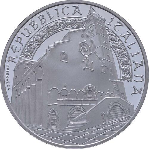 Vorderseite:Italien : 10 Euro Apulien Kathedrale von Trani  2018 PP