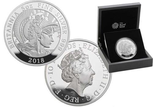 Lieferumfang:Großbritannien : 10 Pfund Britannia  2018 PP