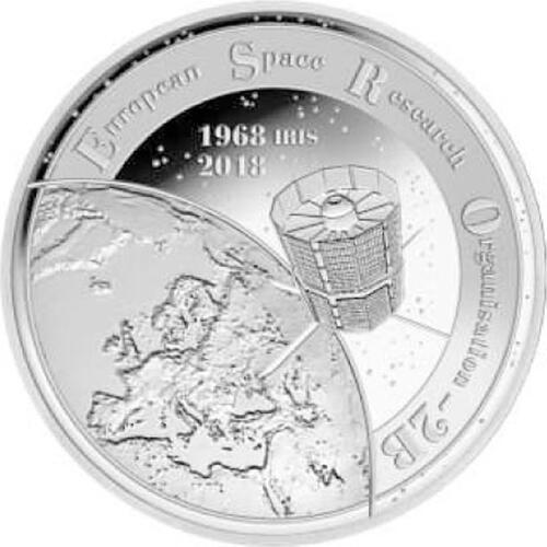 Lieferumfang:Belgien : 20 Euro ESRO-2B Satellit  2018 PP