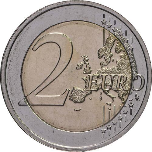 Vorderseite:Luxemburg : 2 Euro 175. Todestag von Großherzog Guillaume I.  2018 bfr