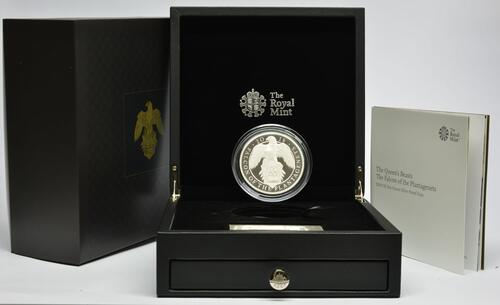 Lieferumfang:Großbritannien : 10 Pfund The Queen's Beast - Falcon of the Plantagenets - 10 oz  2019 PP