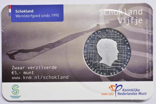 Zertifikat:Niederlande : 5 Euro Schokland  2018 bfr