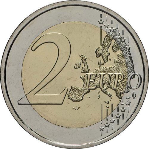 Vorderseite:Finnland : 2 Euro Finnische Saunakultur  2018 bfr