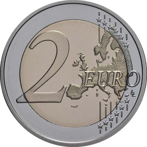 Vorderseite:Finnland : 2 Euro Finnische Saunakultur  2018 PP