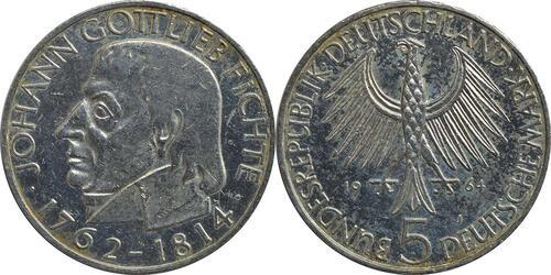 Lieferumfang:Deutschland : 5 DM Fichte  1964 ss.