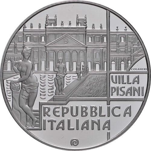 Vorderseite:Italien : 5 Euro Veneto - Venetische Villen  2018 PP