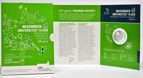 Lieferumfang:Niederlande : 5 Euro Uni Wageningen  2018 PP