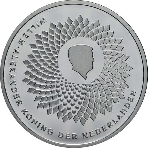 Vorderseite:Niederlande : 5 Euro Uni Wageningen  2018 PP
