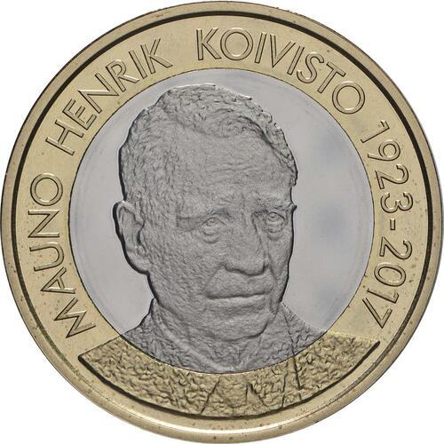 Vorderseite:Finnland : 5 Euro Koivisto  2018 PP