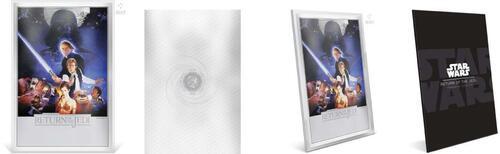 Lieferumfang:Niue : 2 Dollar Star Wars – Rückkehr der Jedi Ritter/Poster  2018 Stgl.