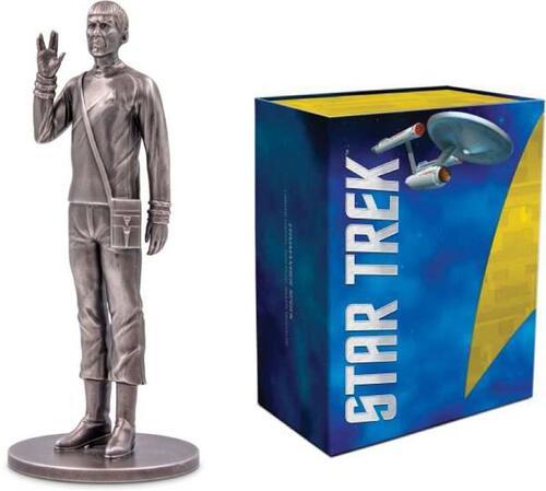 Lieferumfang:Niue :  Miniatur Star Trek - Spock 150 g - Antikfinish  2018 Stgl.
