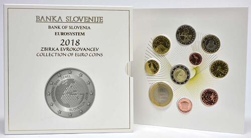 Lieferumfang:Slowenien : 8,88 Euro KMS Slowenien  2018 PP
