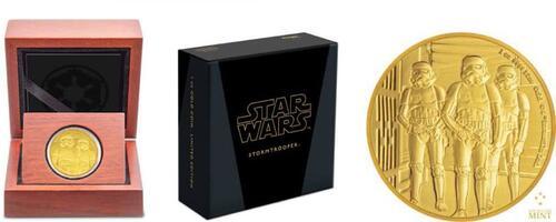 Lieferumfang:Niue : 250 Dollar Star Wars - Stormtrooper  2019 PP