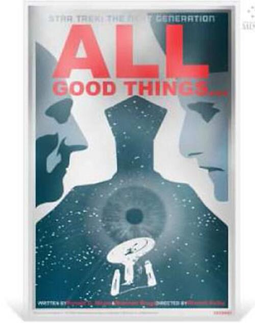 Lieferumfang:Niue : 1 Dollar Star Trek – All Good Things…  2018 PP