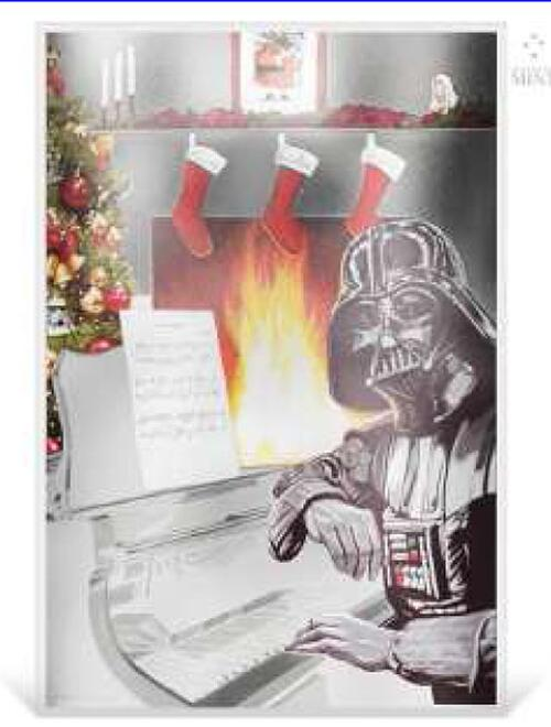 Lieferumfang:Niue : 1 Dollar Star Wars Season's Greetings  2018 Stgl.