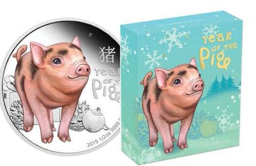 Lieferumfang:Tuvalu : 50 Cent Baby Schwein  2019 PP