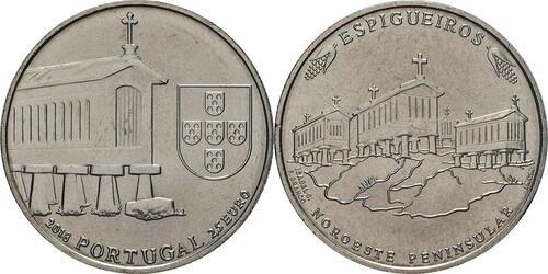 Lieferumfang:Portugal : 2,5 Euro Kornspeicher von Nordwestportugal  2018 bfr