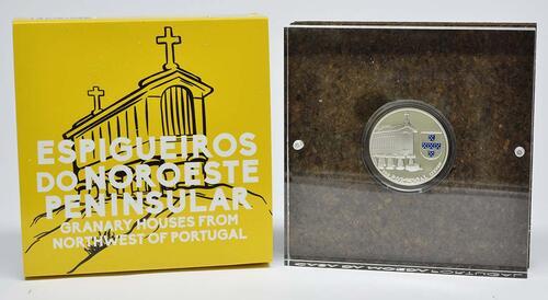 Lieferumfang:Portugal : 2,5 Euro Kornspeicher von Nordwestportugal  2018 PP