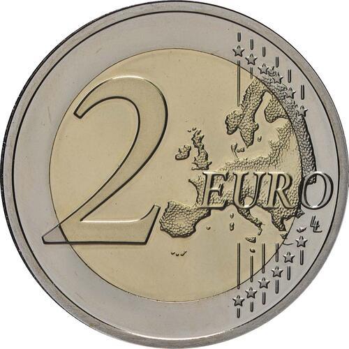 Vorderseite:Luxemburg : 2 Euro 5x2 Euro Gedenkmünzen Set Charlotte-Brücke, Freiwilligenarmee, Guillaume III., Verfassung, Guillaume I. 2016-2018  2018 PP