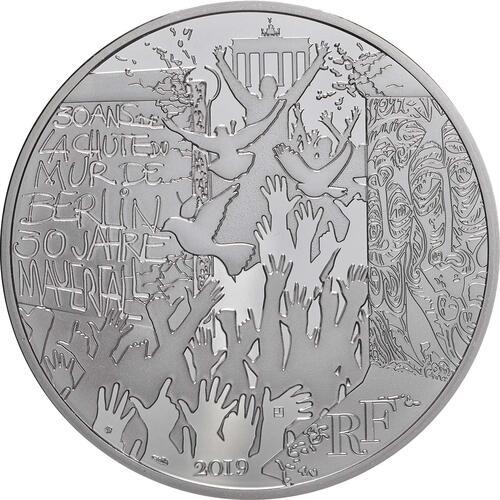 Vorderseite:Frankreich : 100 Euro Fall der Berliner Mauer  2019 bfr