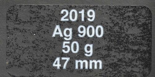 Zertifikat:Frankreich : 100 Euro Fall der Berliner Mauer  2019 bfr