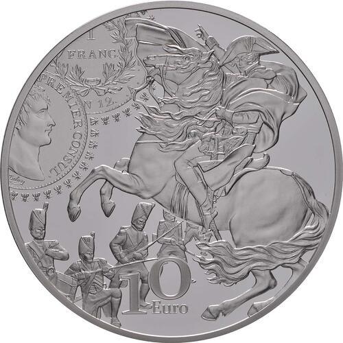 Rückseite:Frankreich : 10 Euro Franc Germinal  2019 PP