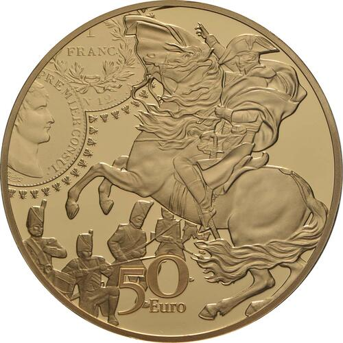 Rückseite:Frankreich : 50 Euro Franc Germinal  2019 PP