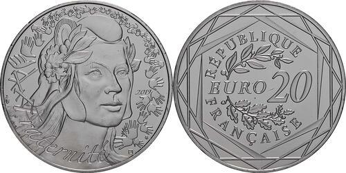 Lieferumfang:Frankreich : 20 Euro Marianne  2019 bfr